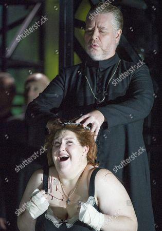 James Creswell as Father Superior, Tamara Wilson as Donna Leonora