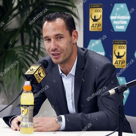 French tennis player Michael Llodra announces his retirement from the game