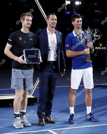 Editorial photo of BNP Paribas Masters Tennis Tournament, Paris, France - 08 Nov 2015