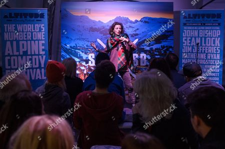 Editorial photo of Altitude Comedy Tent at the Ski & Snowboard Show, London, Britain - 08 Nov 2015