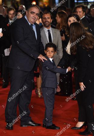 Editorial photo of 'Ronaldo' world film premiere, London, Britain - 09 Nov 2015