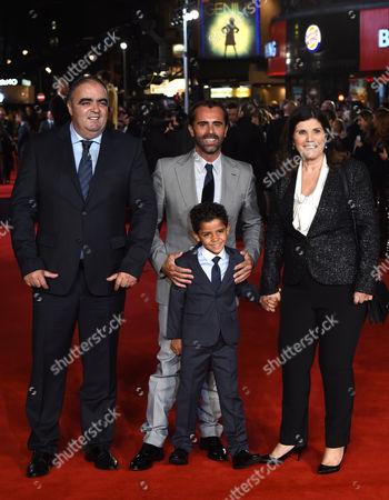 Cristiano Ronaldo's mother Maria Dolores Aveiro and son Cristiano Ronaldo Jnr