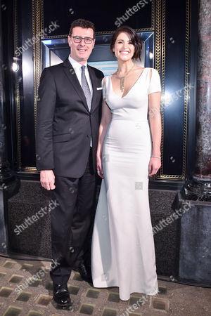 Barratt West and Gemma Arterton