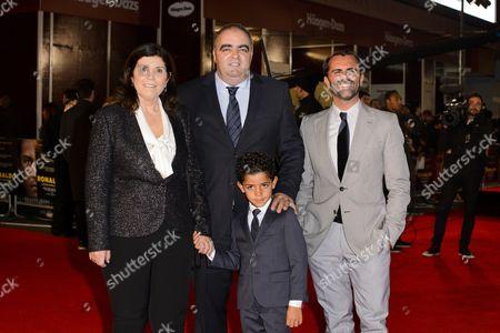 Dolores Aveiro, Cristiano Ronaldo Jr and family