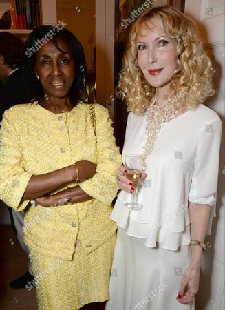 Editorial image of Princess Michael of Kent 'Quicksilver' book launch, London, Britain - 09 Nov 2015