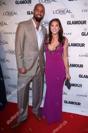 Stock Picture of Jerramy Stevens and Hope Solo