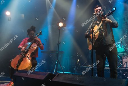 Editorial image of Gabriel Rios in concert at the Roundhouse, London, Britain - 09 Nov 2015