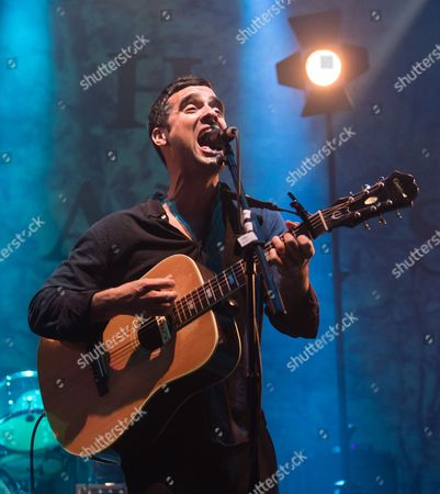 Editorial photo of Gabriel Rios in concert at the Roundhouse, London, Britain - 09 Nov 2015