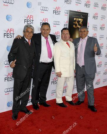 Mario Gomez, Edison Pena, Luis Urzua & Juan Carlos Aguilar