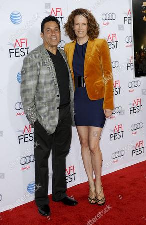 Oscar Nunez & wife Ursula Whittaker
