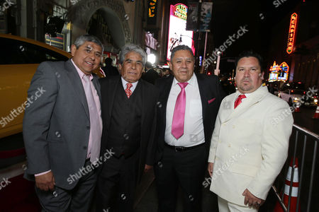Juan Carlos Aguilar, Mario Gomez, Luis Urzua, Edison Pena