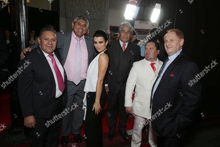 Luis Urzua, Juan Carlos Aguilar, Cote De Pablo, Mario Gomez, Edison Pena, Mike Medavoy