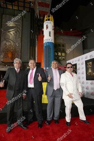 Mario Gomez, Luis Urzua, Juan Carlos Aguilar, Edison Pena