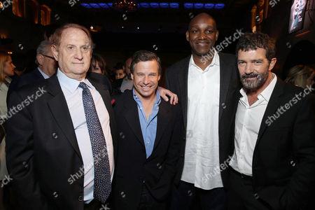 Mike Medavoy, Andrew Kosove, Broderick Johnson, Antonio Banderas