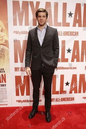 Editorial photo of 'My All-American' film premiere, Los Angeles, America - 09 Nov 2015