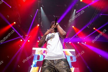 Editorial image of 50 Cent concert, Manchester Arena, Britain - 06 Nov 2015