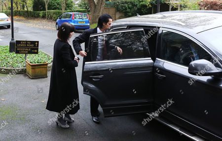 Nick Cave and Wife Susie Bick arrive