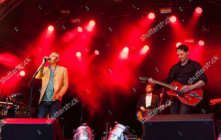 Editorial image of Tindersticks in concert at Somerset House in London, Britain - 15 Jul 2012