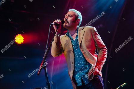 Editorial picture of Tindersticks in concert at Somerset House in London, Britain - 15 Jul 2012