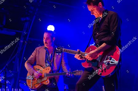 Editorial photo of Tindersticks in concert at Somerset House in London, Britain - 15 Jul 2012