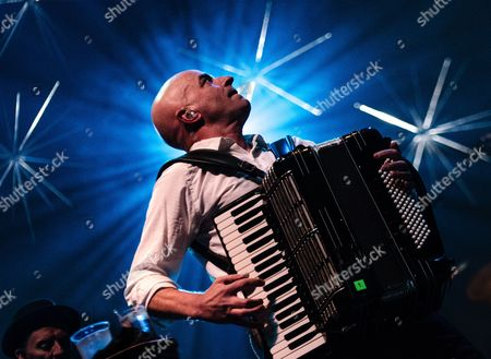 Stock Picture of The Pogues.  James Fearnley