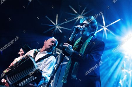 Editorial photo of The Pogues in concert at The O2 Arena in London, Britain - 20 Dec 2012