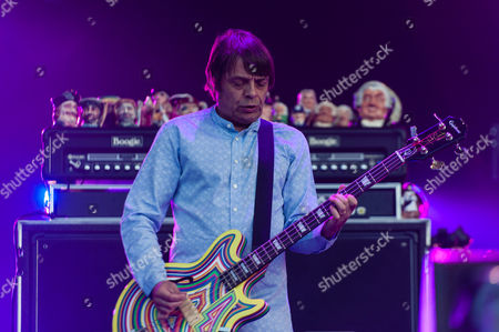 Stock Photo of The Stone Roses.  Gary Manny 'Mani' Mounfield