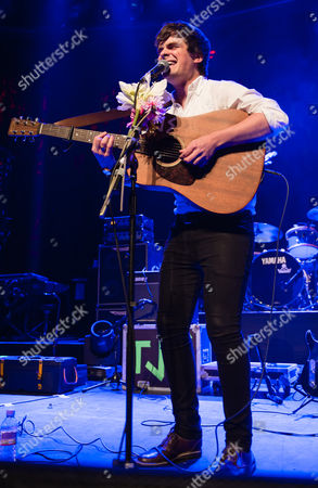 Editorial image of Thomas J Speight in concert at The Roundhouse in London, Britain - 24 Oct 2013