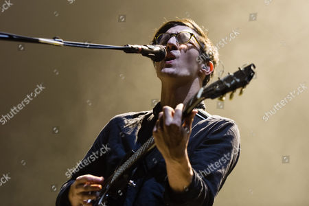 Editorial photo of Dan Croll in concert at O2 Academy Brixton in London, Britain - 25 Nov 2013