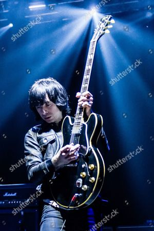 Editorial picture of Primal Scream in concert at O2 Academy Brixton in London, Britain - 11 Dec 2013