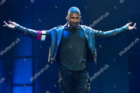 Stock Photo of Usher.  Usher Terry Raymond IV