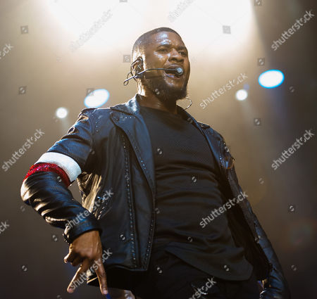 Editorial picture of Usher in concert at The O2 Arena in London, Britain - 26 Mar 2015
