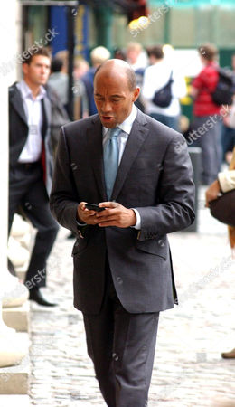 Stock Image of Damon Clarke [43], managing partner of Permira, London based private equity firm that buys companies such as Homebase with cash and borrowed funds, turns the companies around and sells them for a profit. His net worth is an estimated £18million and he is one of the most powerful black men in Britain.