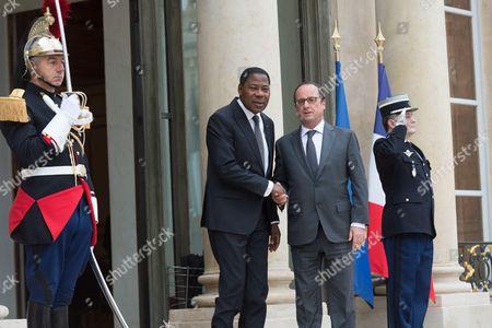 Editorial image of COP21 climate meeting at Elysee Palace, Paris, France - 10 Nov 2015