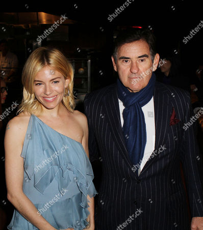 Stock Image of Sienna Miller, Peter M. Brant