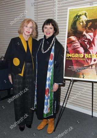 Stock Picture of Pia Lindstrom, Isabella Rossellini