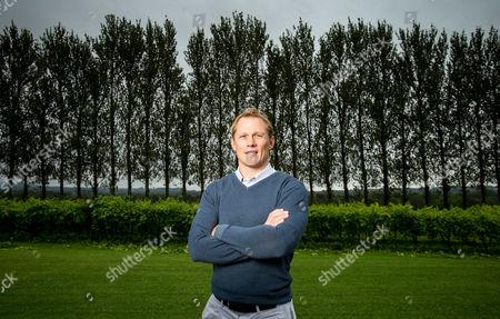 WRU Head of Rugby, Josh Lewsey at Llanarch Vineyard