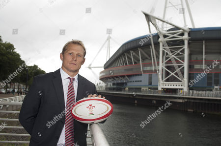 Josh Lewsey has been appointed the WRU Head of Rugby. Pictured with Josh is Roger Lewis, Group Chief Executive.