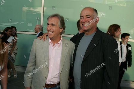 Henry Winkler and Gary David Goldberg
