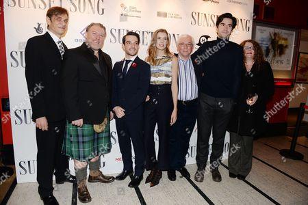 Editorial image of 'Sunset Song' film premiere, Edinburgh, Scotland, Britain - 11 Nov 2015