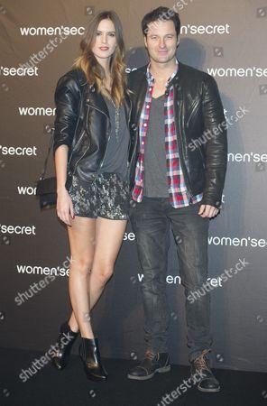 Fernando Andina and girlfriend