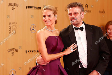 Heidi Klum and father Guenther