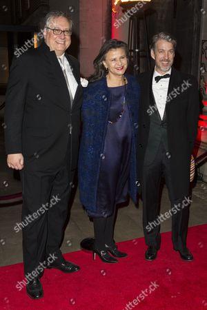 Douglas Carter Beane, Tracey Ullman and Lewis Flinn