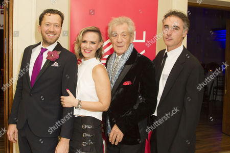 Stock Photo of Jez Bond, Awsa Bergstrom, Sir Ian McKellen and Greg Wise