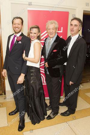 Editorial image of 'Park Theatre' Gala 2015, London, Britain - 12 Nov 2015