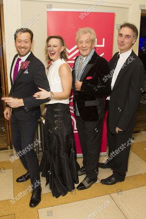 Stock Picture of Jez Bond, Awsa Bergstrom, Sir Ian McKellen and Greg Wise