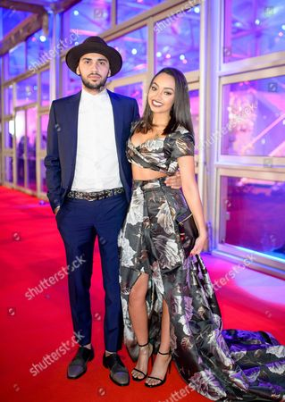 Jordan Kiffin and Leigh-Anne Pinnock