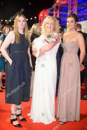 Rosie Marcel, Claire Horton and Camilla Arfwedson
