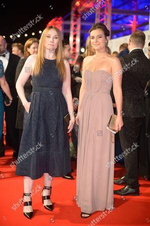 Rosie Marcel and Camilla Arfwedson