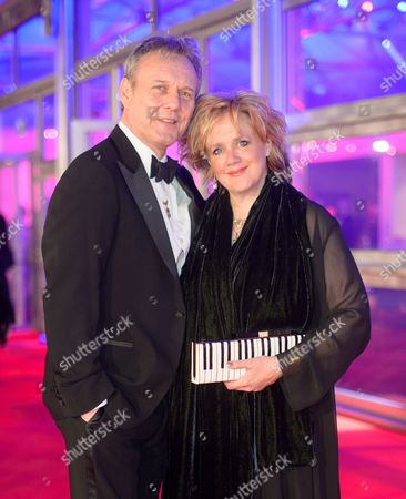Stock Image of Anthony Head and Sarah Fisher